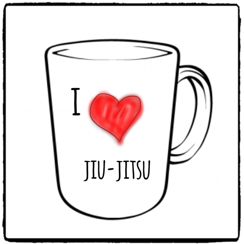 I Love Jiu Jitsu And Our New Bjj Mugs Witty Things